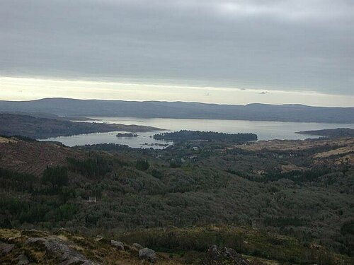 Bantry Bay from Caha Pass
